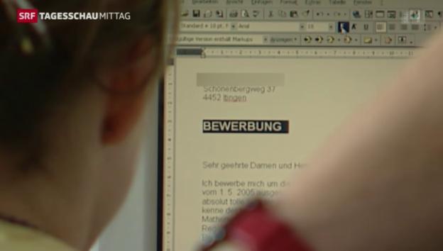 Video «Bund und Wirtschaft gegen Jugendarbeitslosigkeit» abspielen