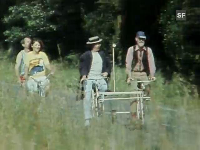 Slapstick mit Franz und René