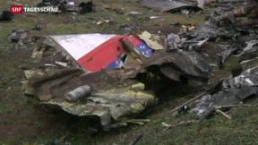 Video «Ermittler bestätigen Abschuss der MH17 durch Buk-Rakete» abspielen
