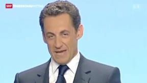 Video «Verfahren gegen Sarkozy » abspielen