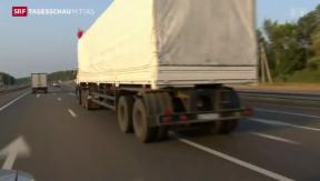 Video «Misstrauen gegenüber russischem Hilfskonvoi» abspielen