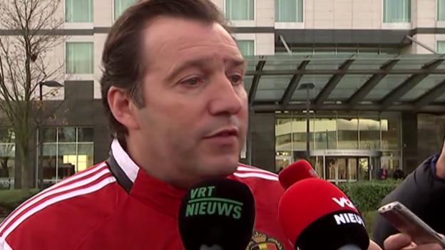 Video «Fussball: Marc Wilmots zur Spielabsage (EVS)» abspielen