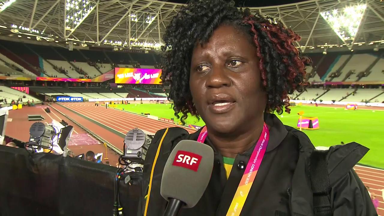 Bolts Mutter: «Sein Körper hat Stop gesagt» (engl.)