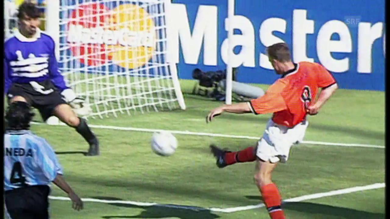 Die schönsten WM-Tore nach Zusammenspielen