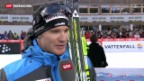Video «Dario Cologna kämpft weiter um den Gesamtsieg bei der Tour de Ski» abspielen