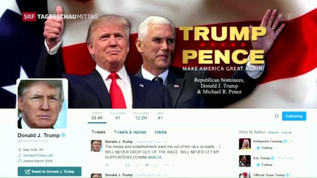Video «Trump verliert an Rückhalt» abspielen
