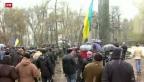 Video «Ukraine: Trügerische Ruhe nach Ablauf der Frist» abspielen