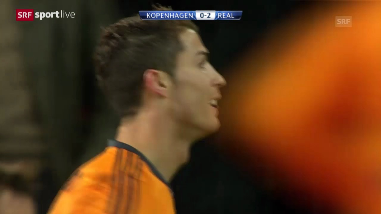 Fussball: CL, Kopenhagen - Real Madrid («sportlive», 10.12.2013)