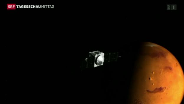 Video «Neue Marsmission der Nasa» abspielen