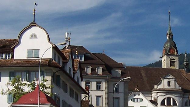 Glockengeläut der Kirche St. Martin, Schwyz