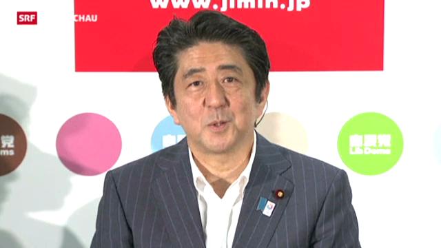 Abe gewinnt