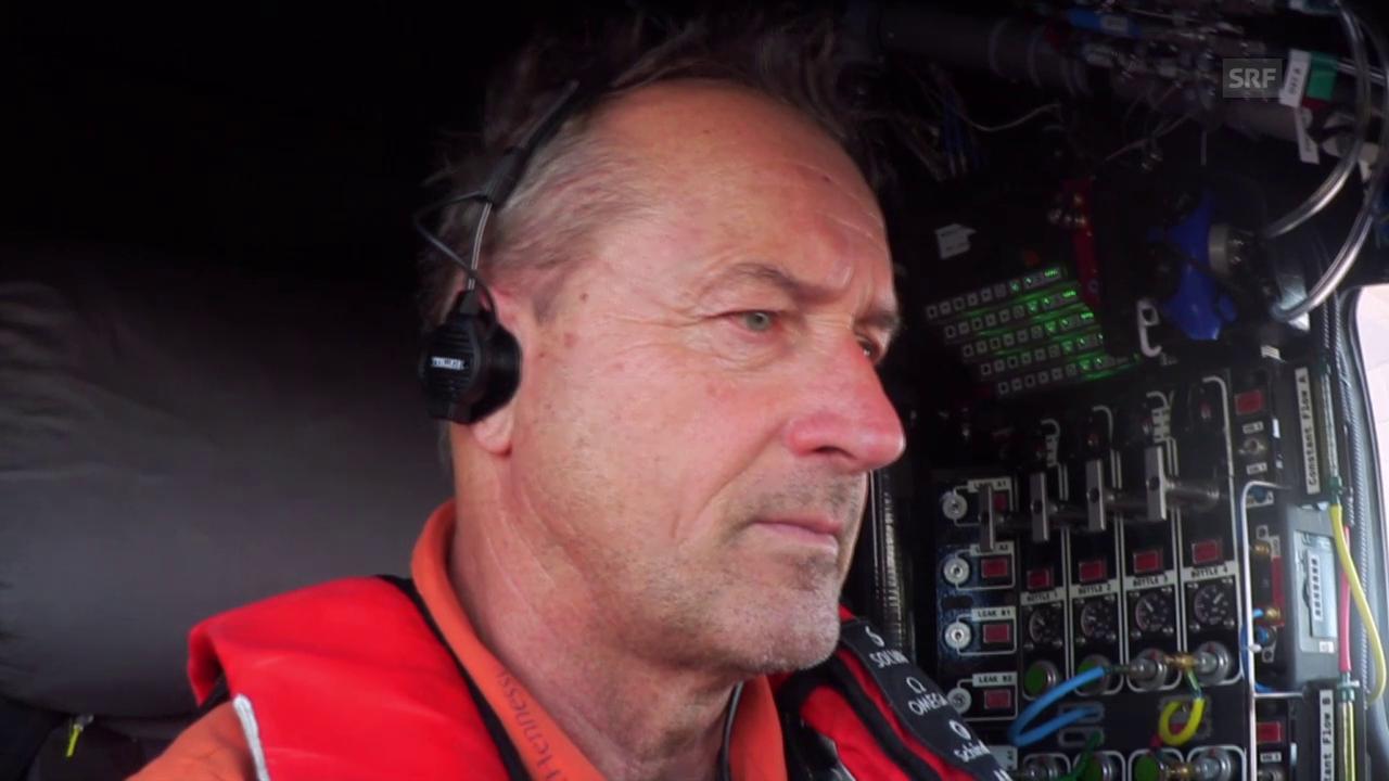 Pilot André Borschberg über die schwierigste Etappe