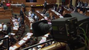 Video «Ständerat stärkt Bundesrat in Service-Public-Debatte den Rücken» abspielen