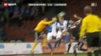 Video «Fussball: GC - Lausanne» abspielen