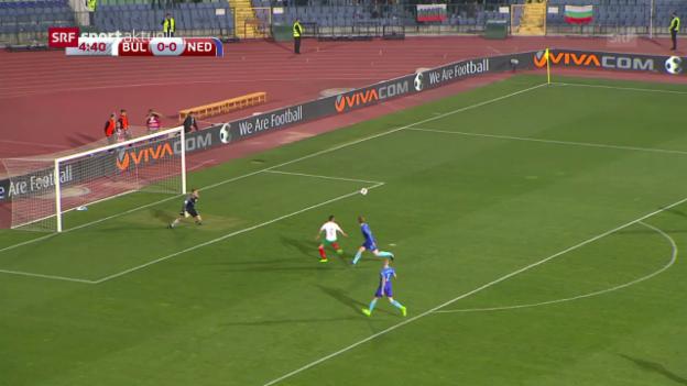 Video «Robben und Co. verlieren in Bulgarien» abspielen