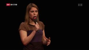 Video «Hazel Brugger: Schweizer Comedy-Exportschlager» abspielen
