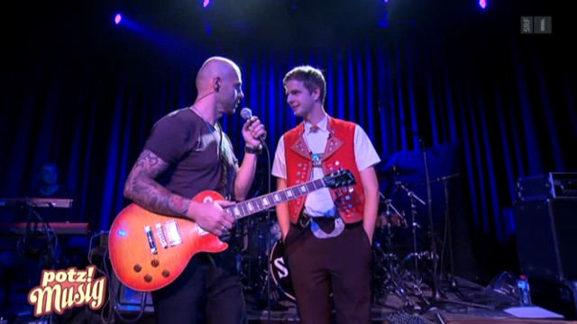 Sennsationell: Am Slädu-Konzert in Mels