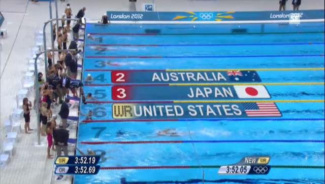 Olympia 2012: Jones mit Silber über 4x100m Lagen («sportlive» vom 04.08.2012)
