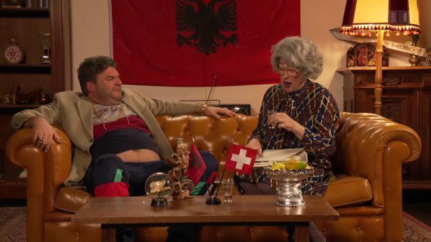 Video «Mergims Nachbarin Frau Grütter» abspielen