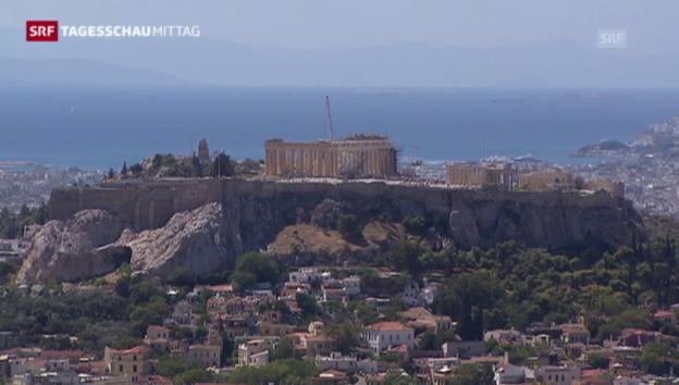 Video «Griechenland Mühen mit der Rückzahlung» abspielen