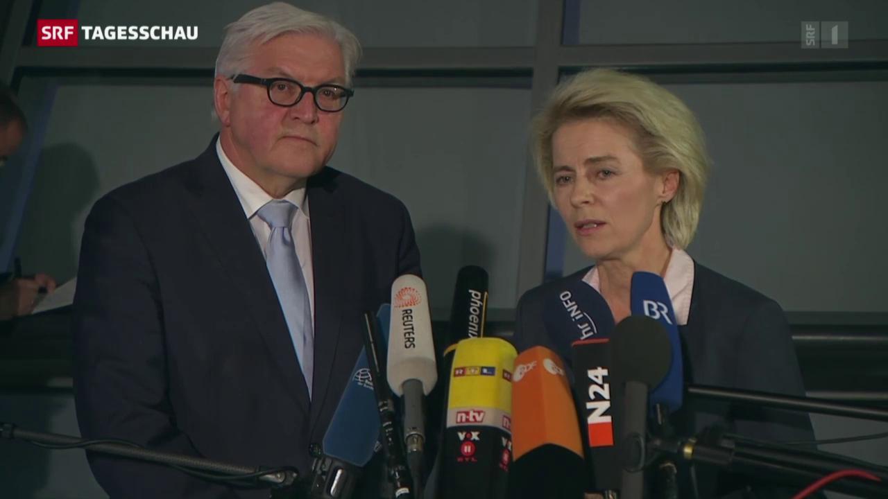 Deutschland plant militärische Unterstützung