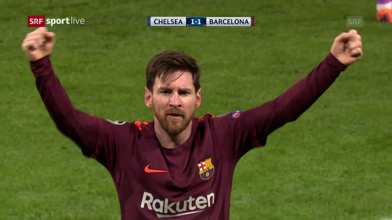 Chelsea und Barça trennen sich unentschieden