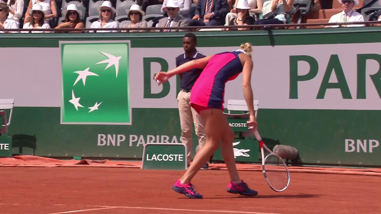 Bacsinszky unterliegt im Paris-Halbfinal Ostapenko