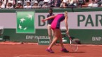 Video «Bacsinszky unterliegt im Paris-Halbfinal Ostapenko» abspielen