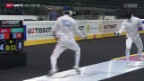Video «Fechten: GP Bern» abspielen