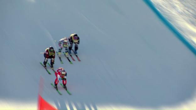 Video «Der Sieges-Run von Skicrosser Alex Fiva» abspielen