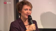 Video «Umweltministerin warnt vor Ja bei Zersiedelungsinitiative» abspielen