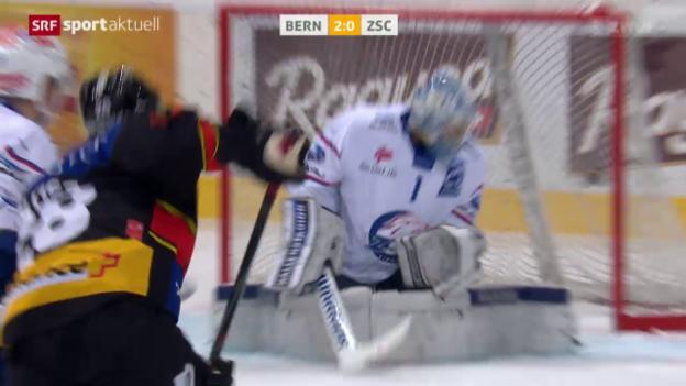 Video «Eishockey: NLA, Bern - ZSC» abspielen