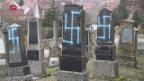 Video ««Es reicht»: Franzosen gehen gegen Antisemitismus auf die Strasse» abspielen