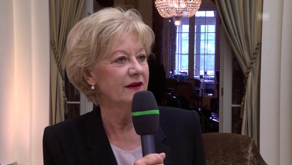 Susanne Leutenegger-Oberholzer: «Die Menschen wollen kein Experiment»