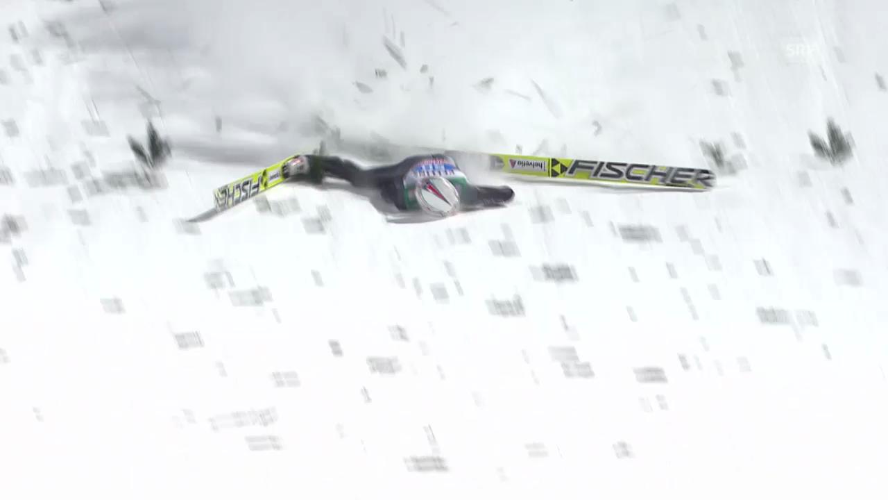 Skispringen: Vierschanzentournee, 4. Springen in Bischofshofen, Simon Ammann