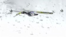 Video «Skispringen: Vierschanzentournee, 4. Springen in Bischofshofen, Simon Ammann» abspielen
