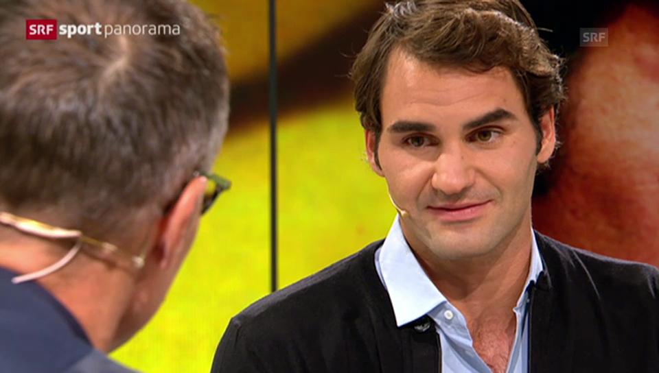 Federer über das Reisen