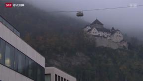 Video «Liechtenstein will automatisch Steuerdaten austauschen» abspielen