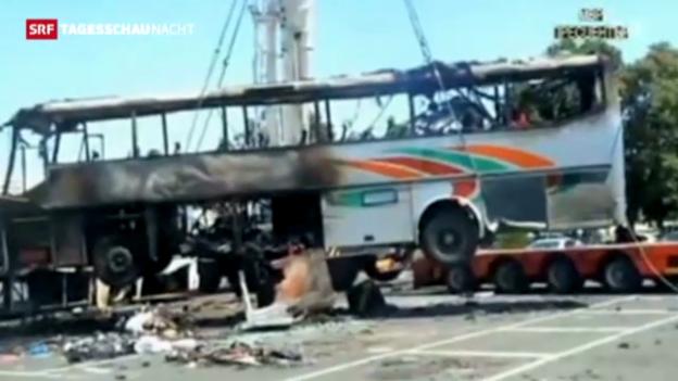 Video «Hisbollah soll für den Anschlag von Burgas verantwortlich sein» abspielen