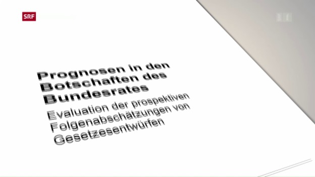 Video «Finanzkontrolle rügt hohe Fehlerrate» abspielen