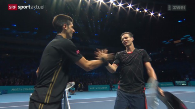 Video «Tennis: Djokovic verteidigt Nummer 1» abspielen