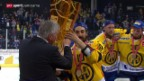 Video «Eishockey: Playoff-Final, Siegesfeier HCD» abspielen