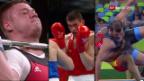 Video «Olympische Schwergewichte: Boxen, Ringen und Gewichtheben» abspielen