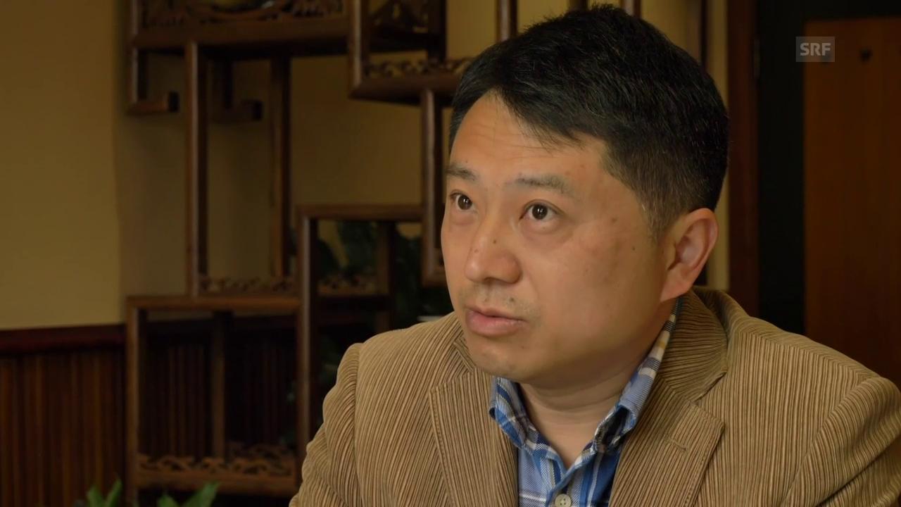 Kein perfekter Bürger: Journalist Liu über seine Probleme