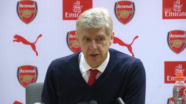 Video «Wenger: «Xhaka muss sich unter Kontrolle haben» (SNTV)» abspielen