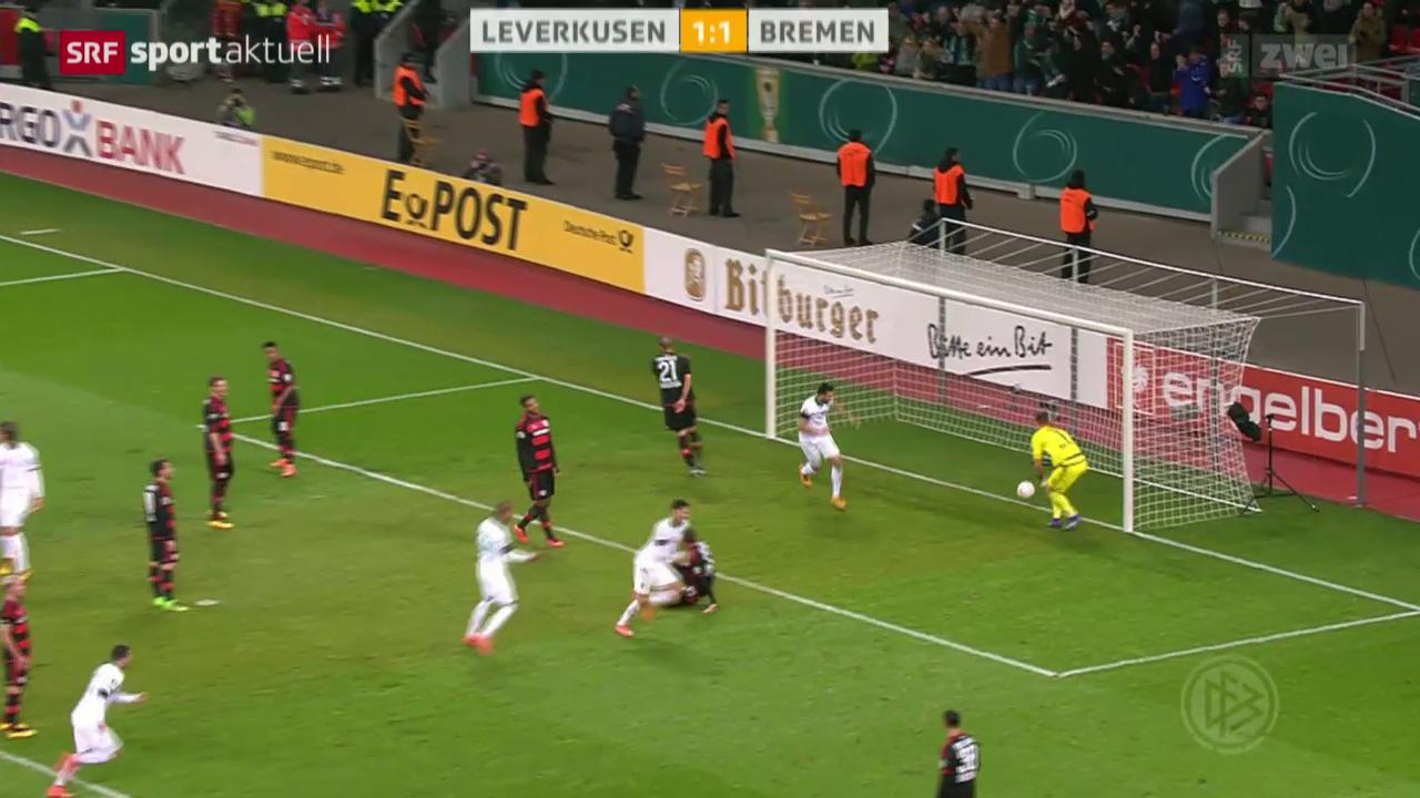DFB-Pokal: Bayer Leverkusen - Werder Bremen