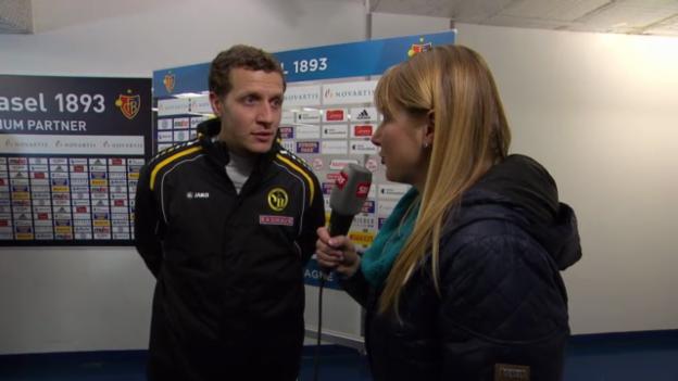 Video «Fussball: Interview mit Marco Wölfli» abspielen