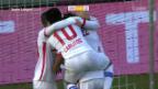 Video «Sion schlägt Lausanne mit 3:1» abspielen