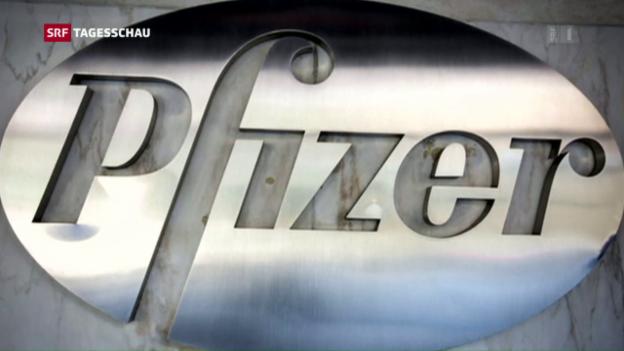 Video «Pfizer verzichtet auf Fusion mit Allergan» abspielen