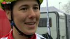 Video «Mountainbike: Linda Indergand am Racing Cup in Schaan/FL» abspielen